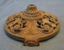 vintage ornate cast iron bridge floor lamp table base