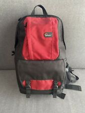 Lowepro Fastpack 250 - Travel-Ready Backpack For DSLR Camera & Gear - Red/Black
