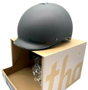 Thousand Heritage Bike Helmet Stealth Black - Size Medium 57-59cm. 470g