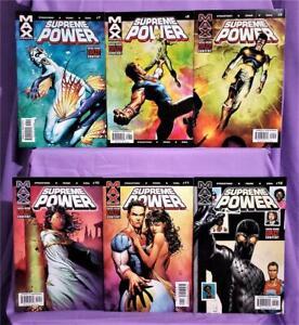 J Michael Straczynski SUPREME POWER #7 - 12 Gary Frank (Marvel, 2004)!