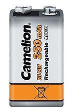 Camelion 17025122 Akku (nimh 9 Volt Block 250 mAh 1er)