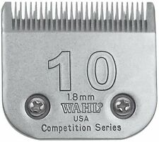 "WAHL COMPETITION 10 BLADE 1.8mm. 1 1/16"".  DOG GROOMING."