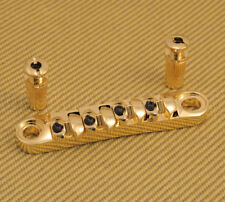 BB-TOM-G Gold Tunematic Bridge for 4-String Bass w/Studs T-O-M
