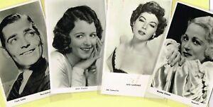 Vintage Original ☆ FILM STAR ☆ Postcards from around the World - List G