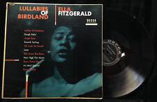Ella Fitzgerald-Lullabies Of Birdland-Decca 8149-MONO
