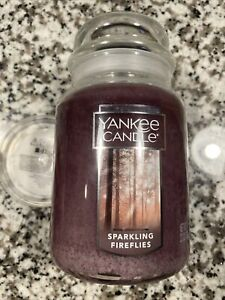 Yankee Candle Sparkling Fireflies Large Jar 22oz