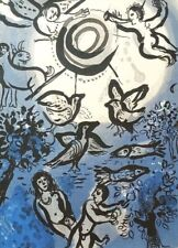 "MARC CHAGALL BIBLE ""Creation"" HAND NUMBERED LIMITED EDITION LITHOGRAPH M234"