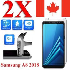 Premium Screen Protector Cover for Samsung Galaxy A8 2018 (2 Pack)