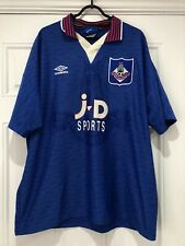 1995-96 Oldham Athletic Home Shirt - 2XL