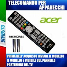 TELECOMANDO UNIVERSALE PER TELEVISORI ACER - INVIARE MODELLO TV O DECODER