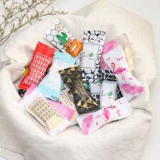 100 Pcs Flamingo Cactus Pattern Handmade DIY Nougat Plastic Packing Candy Bags