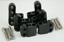 New Black Ignition Lead Wire Separators with Vertical Mounts Suit 7-9mm 28-212