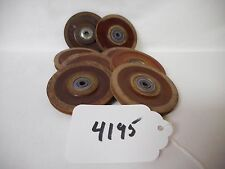 "(4195) Aircraft Phenolic Cable Pulley 2.5"" OD P/N AN-210-2A"