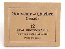 Quebec Canada St Anne De Beaupre 12 Views 7 RP Real Photographs 5 Prints H829