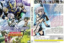 ANIME DVD~ENGLISH DUBBED~Knight's & Magic(1-12End)All region FREE SHIPPING+GIFT