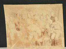 RARE! 1891 Yale Baseball Team Original Cabinet Photo, Yale Murphy, Lee McClung