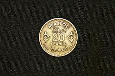 Morocco 20 Francs Coin, 1951a (AH 1371)