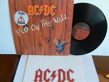 AC/DC - Fly On The Wall  781 263-1  EU LP 1st Press 1985 Atlantic Danger sticker