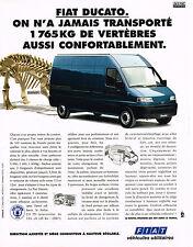 PUBLICITE ADVERTISING 104  1994   FIAT  DUCATO   véhicules utilitaires