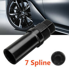 7 Spline Drive Tuner Lug Socket Wheel Nut Tuner Locking Key Removal Tool
