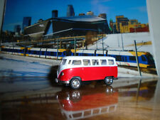 Kinsmart - Classic Volkswagon - Die Cast - 1/64 Scale - Red & White