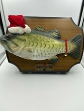 Big Mouth Billy Bass Holiday Singing Christmas Carols Jingle Bells Up on a House