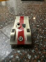Vintage 1960s 1/32 Scale Riggen Slot Car CAN AM Blue Canam RARE