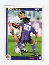 figurina card - CALCIATORI CARD SCORE 1993  - numero 134 GENOA VAN'T SCHIP