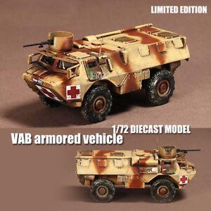 FRANCE VAB armored vehicle 1/72 DIECAST MODEL FINISHED TANK War Master