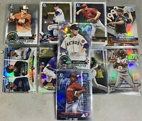 2018 Bowman Chrome Lot Of 142 W/ Inserts 1sts Atomic Talent Pipeline Top 100 ++