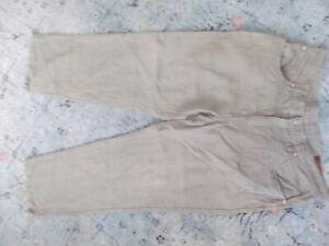 Men's ORVIS beige hemp pants Jeans Sz. 38x32