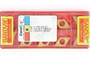 9 SANDVIK DCMT 11T304-UM - Grade 235 CNC Lathe Coated Carbide Turning Inserts