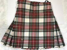 Premier 8 Yard Wool Kilt Scotland Stewart Clan Custom Wool Wedding Military Pin
