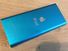 IPod NANO 2nd generazione .4GB BLU (deve essere utilizzato su un dock)