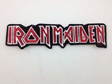 Iron Maiden Embroidered Logo Patch ~ Mint