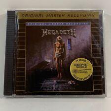Megadeth - Countdown to Extinction - MFSL Gold Audiophile CD SEALED