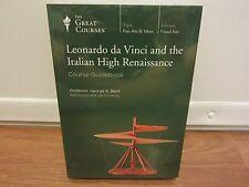 TEACHING COMPANY Leonardo da Vinci and the Italian High Renaissance   DVD  NEW