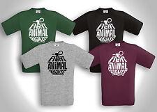 FIGHT FOR ANIMAL RIGHTS - T-Shirt - Tierschutz VEGAN Vegetarier Punk Hc Peta