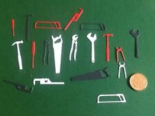 30 x Die cut Men Tools (3 x 10 various sizes and colours)  **FREE UK POSTAGE**