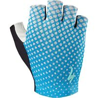 Specialized Women's BG Grail Glove - Neon Blue/Geo Crest - XL