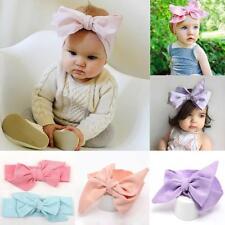 Rabbit Ears Bow Turban Knot Headband Baby Head Wrap Hair Band
