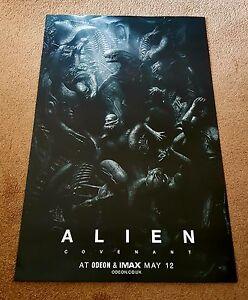 Alien Covenant Exclusive Odeon Cinema Poster