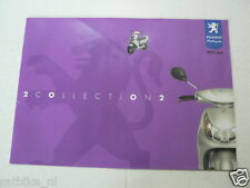 D740  BROCHURE PEUGEOT SCOOTERS 2002 MODELS DUTCH 10 PAGES LOOXOR,TKR,VIVACITY,