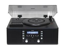 TEAC Plattenspieler LP-R500 (Kassette, CD-Recorder, Radio) schwarz
