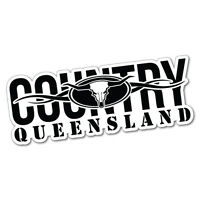 Country Qld Queensland Sticker Decal Outback 4x4 Ute Country Aussie #5684E