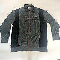 P. Miller Signature Collection Mens XL Hoodie Sweatshirt Full Zip  gray