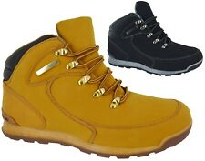 MENS LACE UP ANKLE BOOTS WINTER HIKING COMBAT WORK SHOES COMBAT TRAINER SZ 6-11