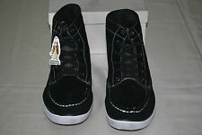 NEW HUSH PUPPIES MENS BLACK ANKLE BOOTS LACE-UP SUEDE SIZE US 10 EUR 43
