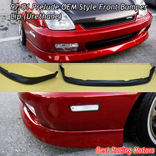 OE Style Front Bumper Lip (Urethane) Fits 97-01 Honda Prelude