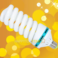 220V 240V Fluorescent Daylight Photo Video Bulb 150W Watt 5400K CFL Lamp Tube